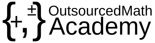 Logo of OutsourcedMath Academy